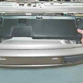 Как снять и установить облицовку радиатора на ВАЗ 2114, 2115, 2113