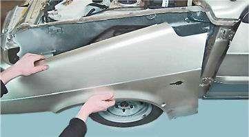 Как снять и установить переднее крыло на ВАЗ 2114, 13, 15