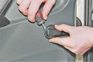 процесс снятия обивки задней двери на лада самара 2114