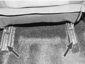 ремонт переднего сиденья ваз 2114-13-15