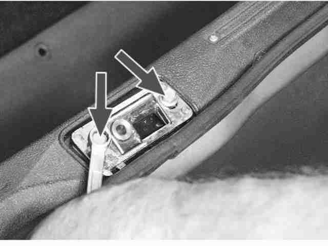 Как снять и установить замок двери задка на ВАЗ 2114, 2113