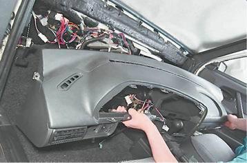 Как снять и установить панель приборов ВАЗ 2114, 2113, 2115