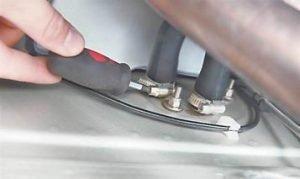 как заменить краник отопителя на ваз 2114-13-15