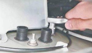 как заменить краник отопителя на ваз 2114