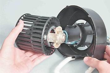 Как снять и установить вентилятор отопителя на ВАЗ 2114, 2113, 2115