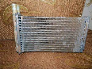 медный радиатор печки ваз 2114