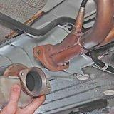 Как снять и установить катализатор на ВАЗ 2113, 2114, 2115