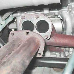 Как снять и установить приемную трубу выхлопной системы на ВАЗ 2113, 2114, 2115