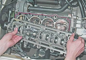 Как снять и установить головку блока цилиндров на ВАЗ 2113, 14, 15.