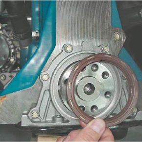 Как заменить задний сальник коленчатого вала на ВАЗ 2114, 2115, 2113