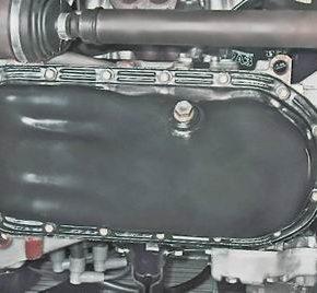 Как заменить прокладку поддона картера двигателя на ВАЗ 2114/13