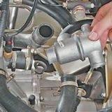 Как снять и установить термостат на ВАЗ 2113, 2114, 2115