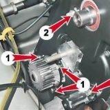 Как снять и установить насос охлаждающей жидкости на ВАЗ 2113, 2114, 2115