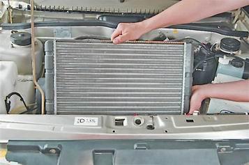 Как снять и установить радиатор системы охлаждения на ВАЗ 2113, 2114, 2115