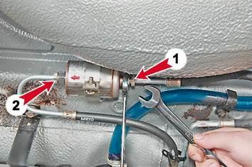 Как заменить топливный фильтр на ВАЗ 2114
