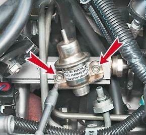 Как поменять регулятор давления топлива на ВАЗ 2114, 2113, 2115