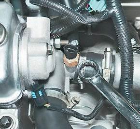 Как проверить и заменить датчик температуры охлаждающей жидкости на ВАЗ 2113, 2114, 2115