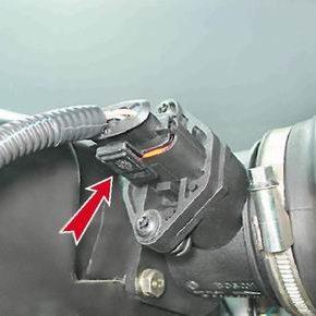 Как проверить и заменить датчик массового расхода воздуха на 2114