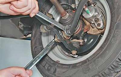 Как снять и установить продольную растяжку подвески на ВАЗ 2113, 2114, 2115