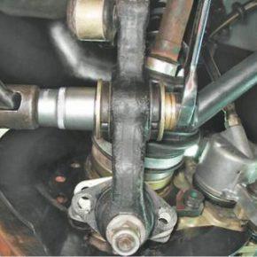 Как снять и установить поперечный рычаг подвески на ВАЗ 2113, 2114, 2115
