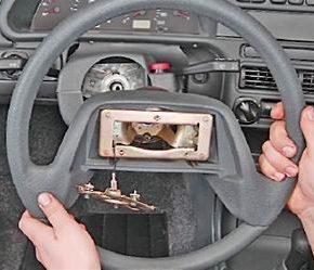 Как снять и установить рулевое колесо на ВАЗ 2113, 2114, 2115