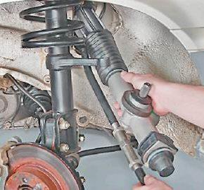 Замена рулевой рейки на автомобилях ваз 2113, 14, 15