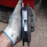 Определяем износ тормозных колодок и дисков на ВАЗ 2114